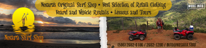 Nosara Surf Shop Banner