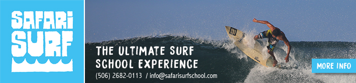 Safari Surf School Banner