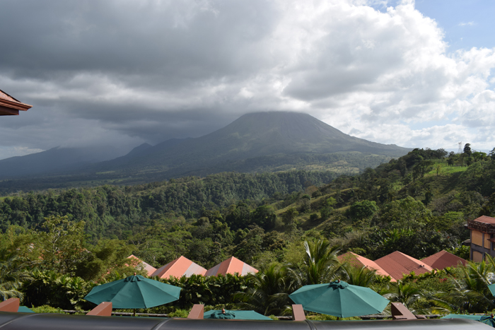 View of Arenal from The Springs.