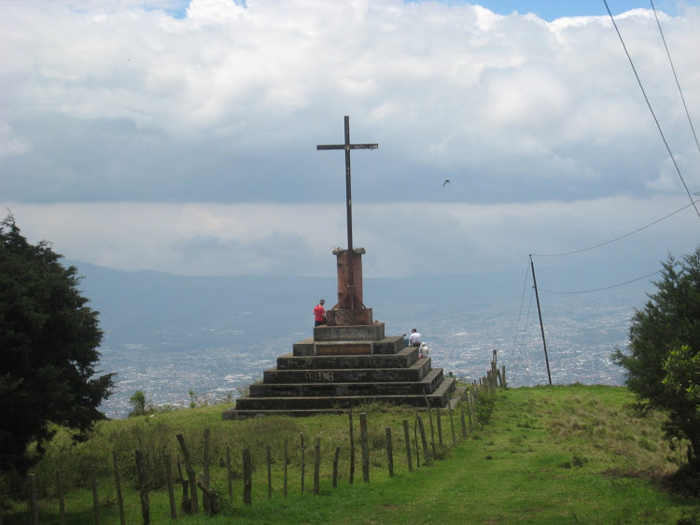 The second cross of Tres Cruces stands sentinel over the Central Valley.