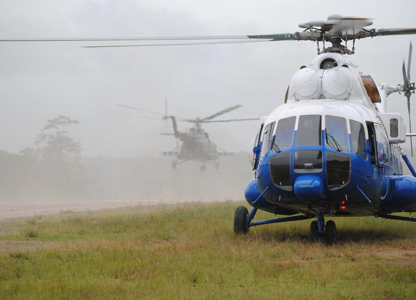 Nicaraguan helicopters