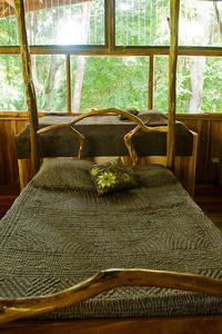 Jungle House bedroom