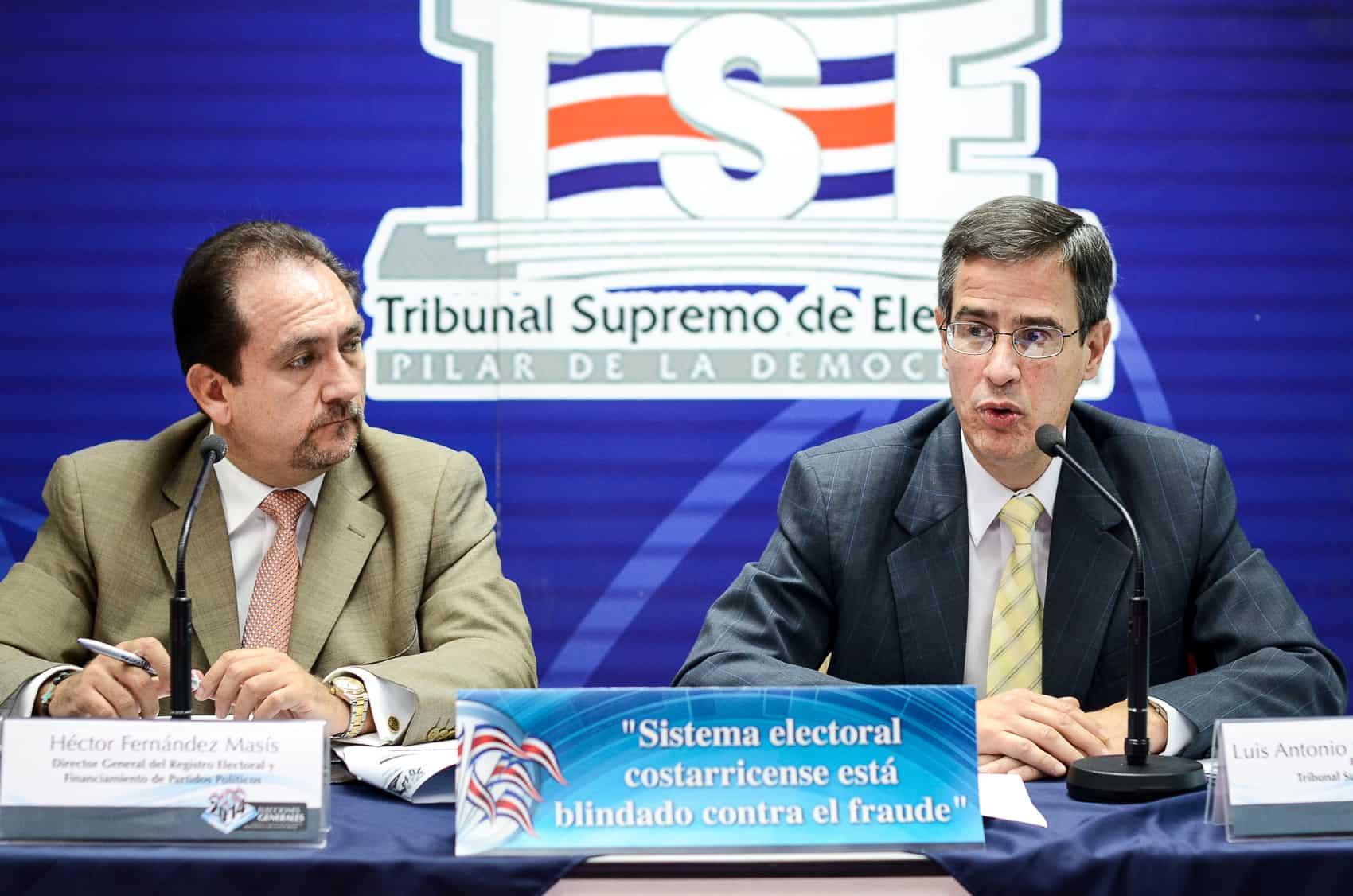 Supreme Elections Tribunal President, Justice Luis
