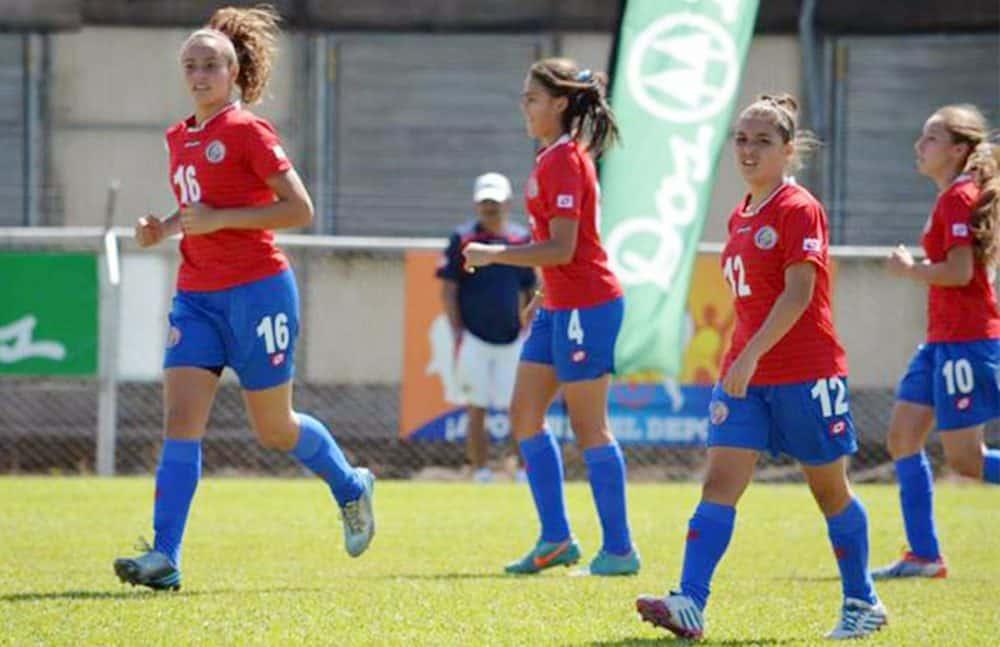 Costa Rica's U-17 Women National Team