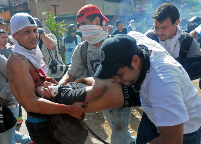 Manaure Quintero/AFP