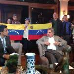 Ex-Costa Rican President and Nobel Peace Prize winner Oscar Arias blasts Venezuelan government