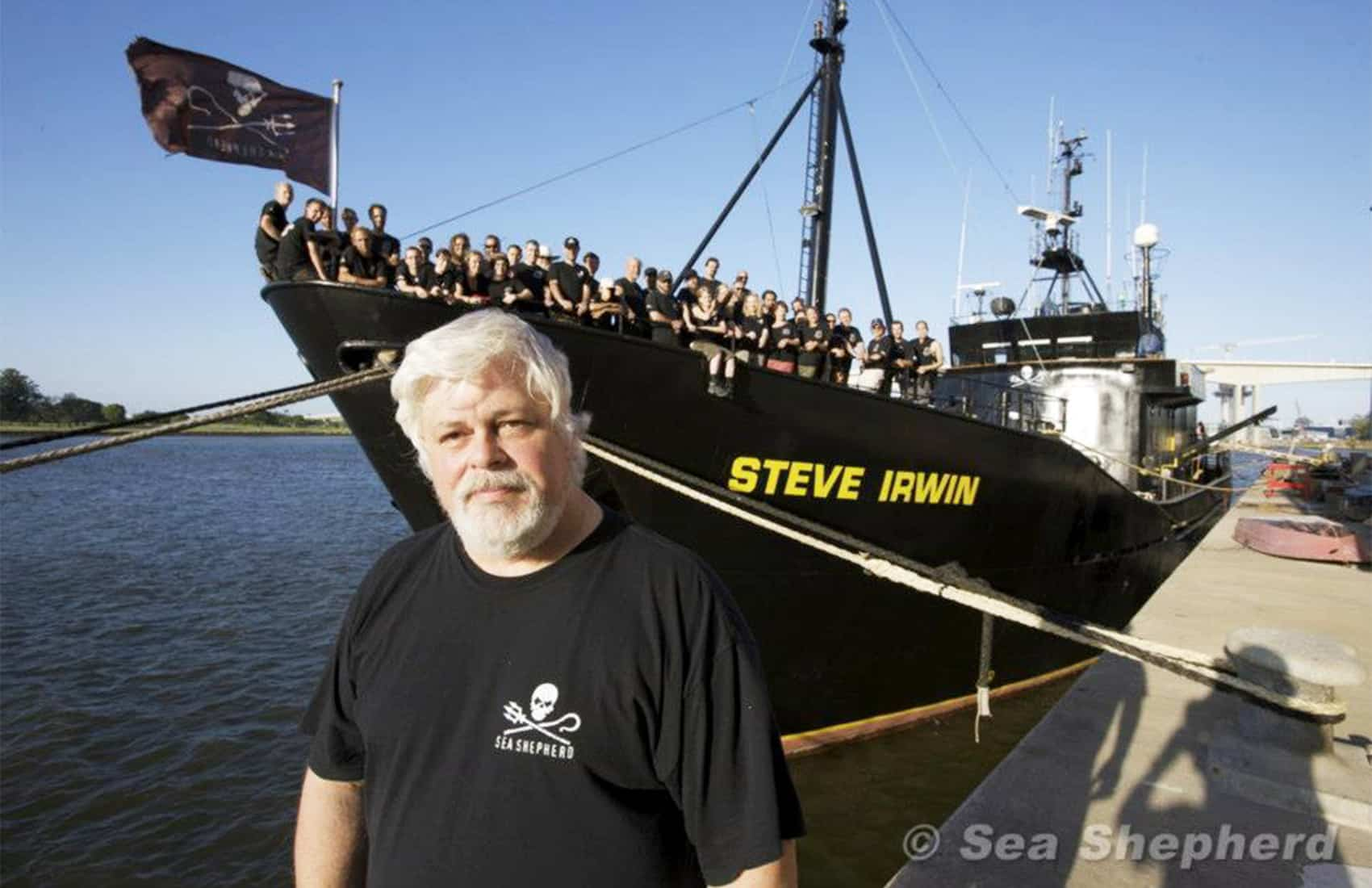 Sea Shepherd's Paul Watson