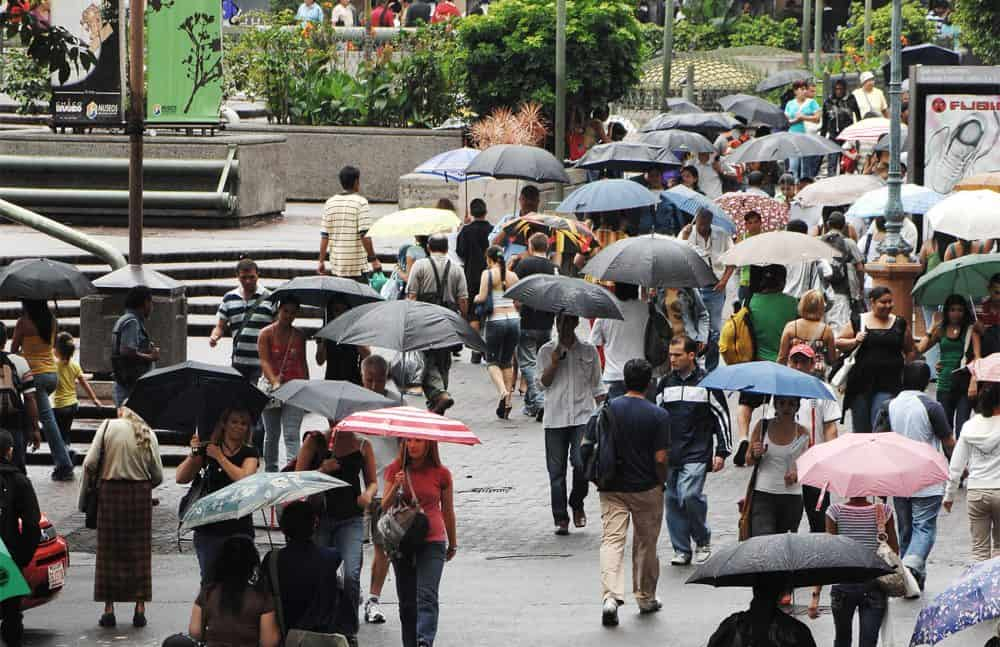 Rainy season in San José