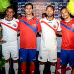 Costa Rica unveils World Cup uniforms