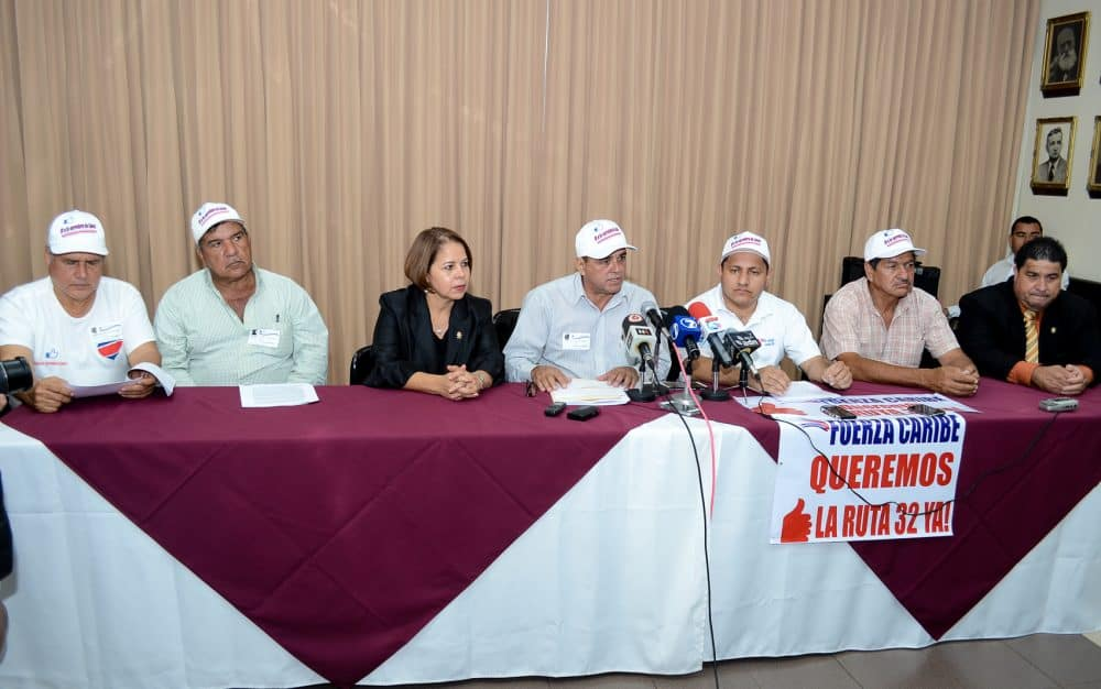 Fuerza Caribe meeting with lawmakers