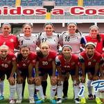 Costa Rica will battle with Venezuela before a full stadium to inaugurate the Under-17 Women's World Cup