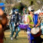 Tico costume designer presents a 'galactic parade' to kick off arts festival