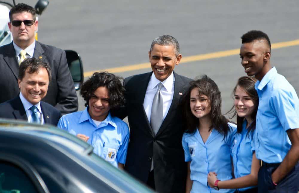 Barack Obama, Franklin Chang