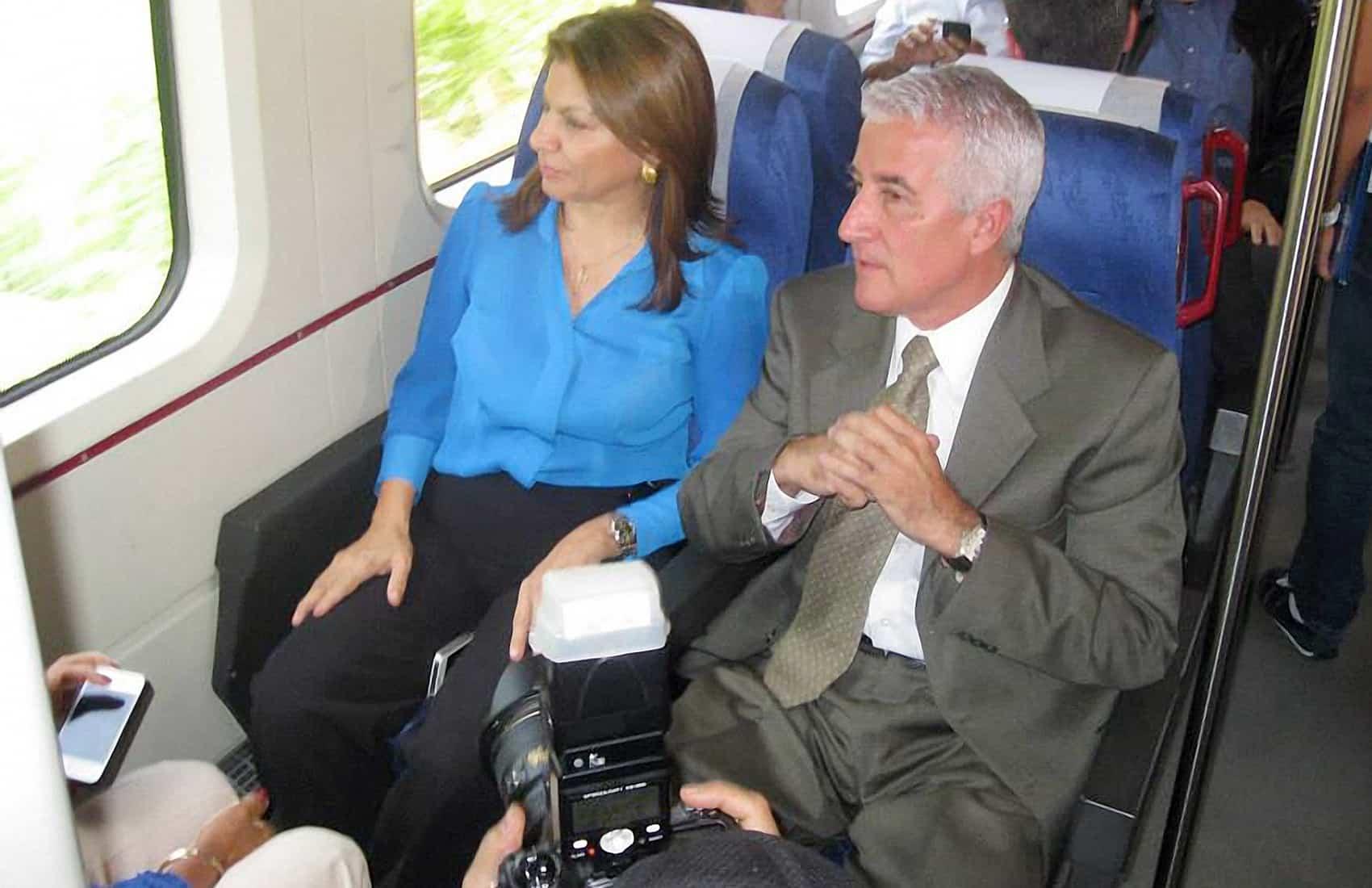 INCOFER President Miguel Carabaguíaz