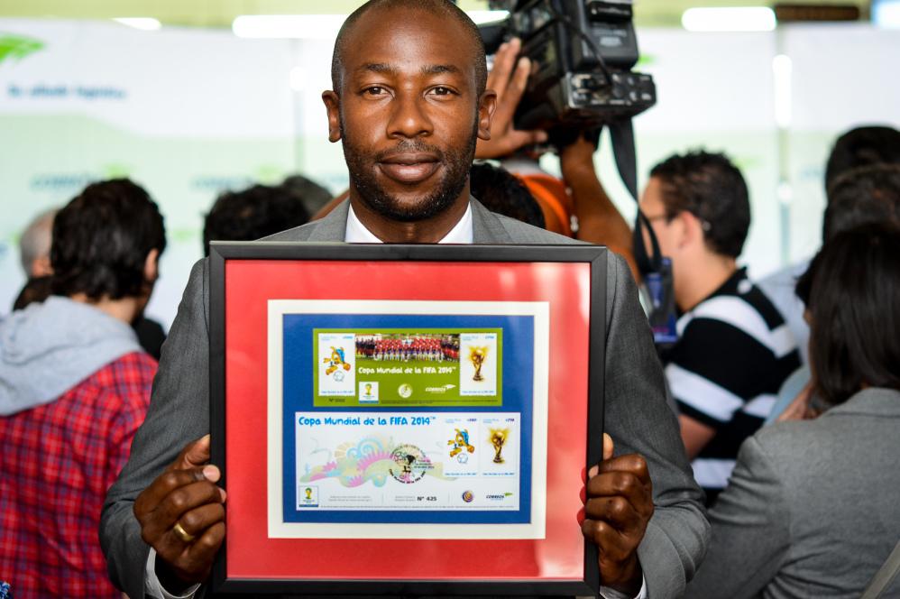 Correos de Costa Rica FIFA stamp