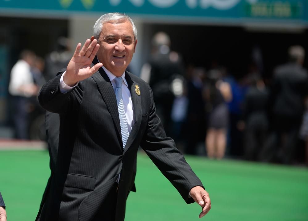 Otto Pérez Molina, president of Guatemala
