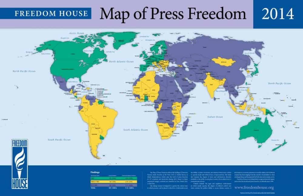 Costa Rica Surpasses Canada US In Recent Press Freedom Rankings - Us map of costa rica