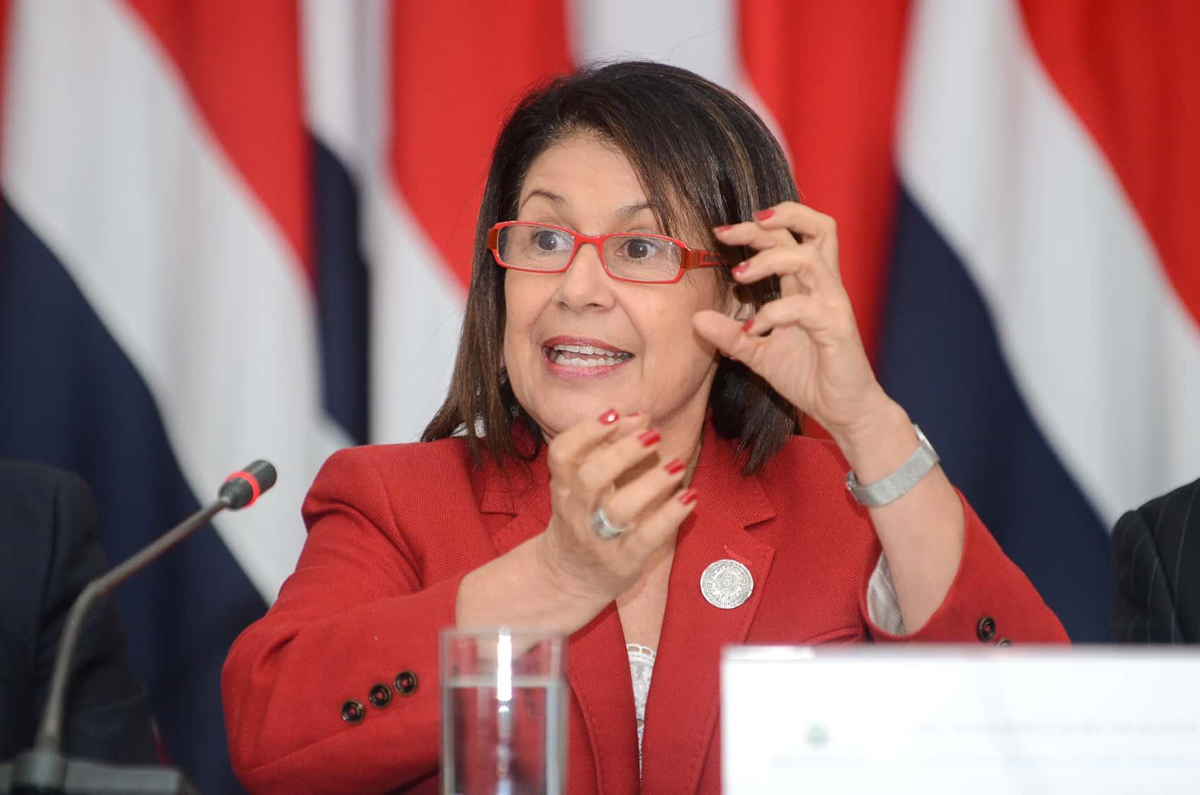 Education Minister Sonia Marta Mora