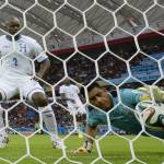 France wins 3-0 over Honduras, the first CONCACAF team to lose at the World Cup
