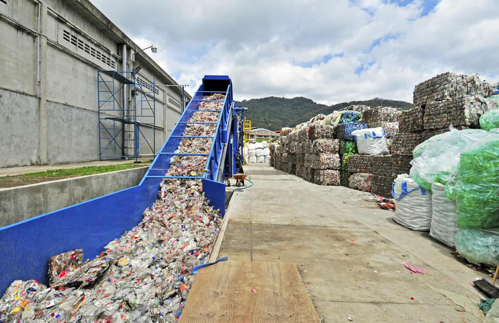 New World Recycle plant
