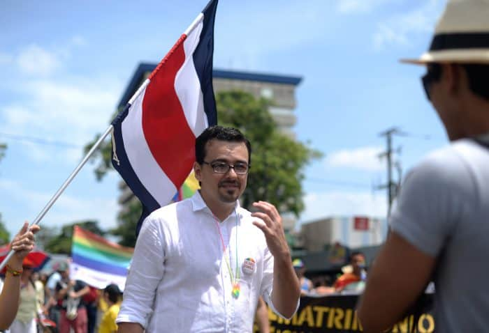 Gay rights Costa Rica José María Villalta