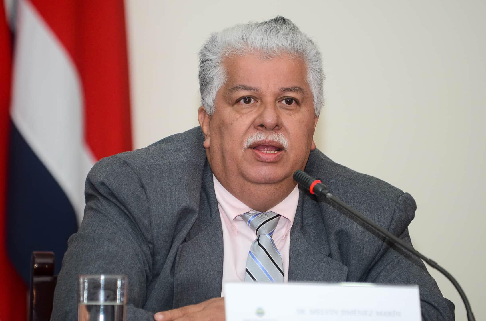 Presidency Minister Melvin Jiménez Marín