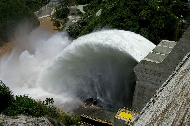 Costa Rica's Pirrís hydroelectric dam.
