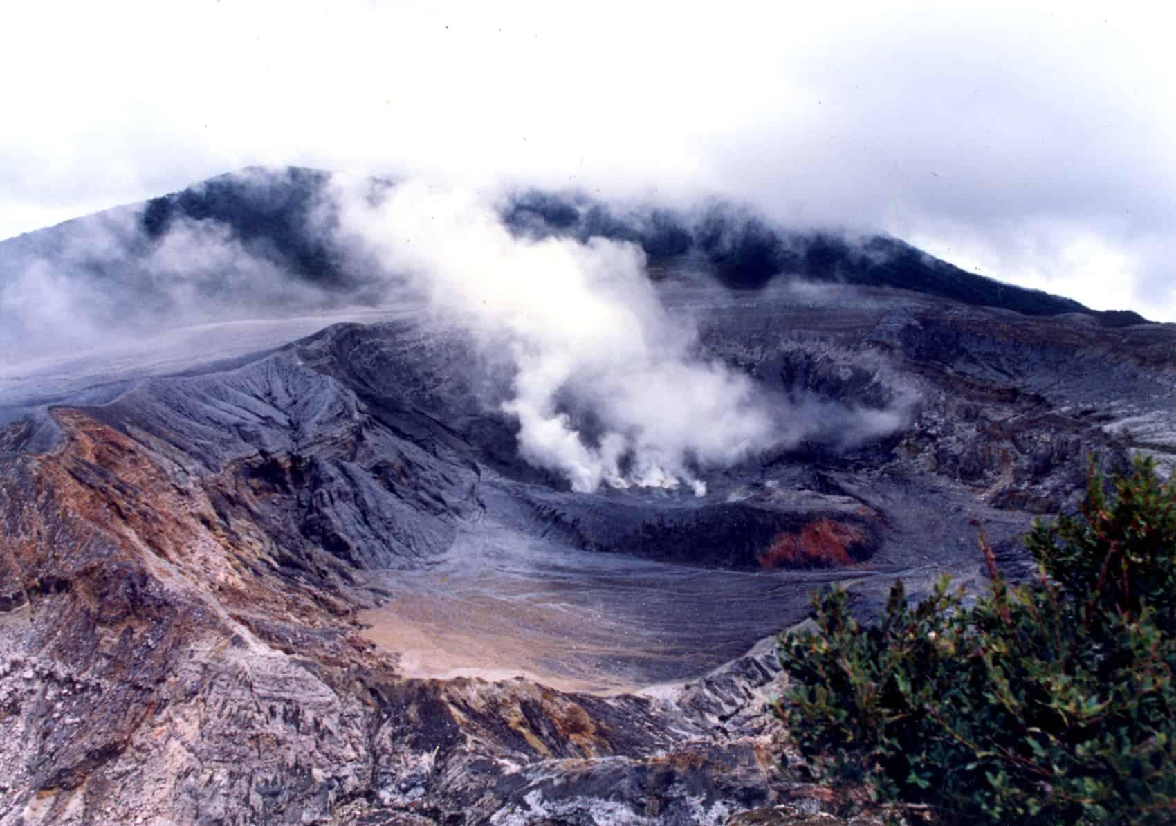 Poás Volcano, 1994.