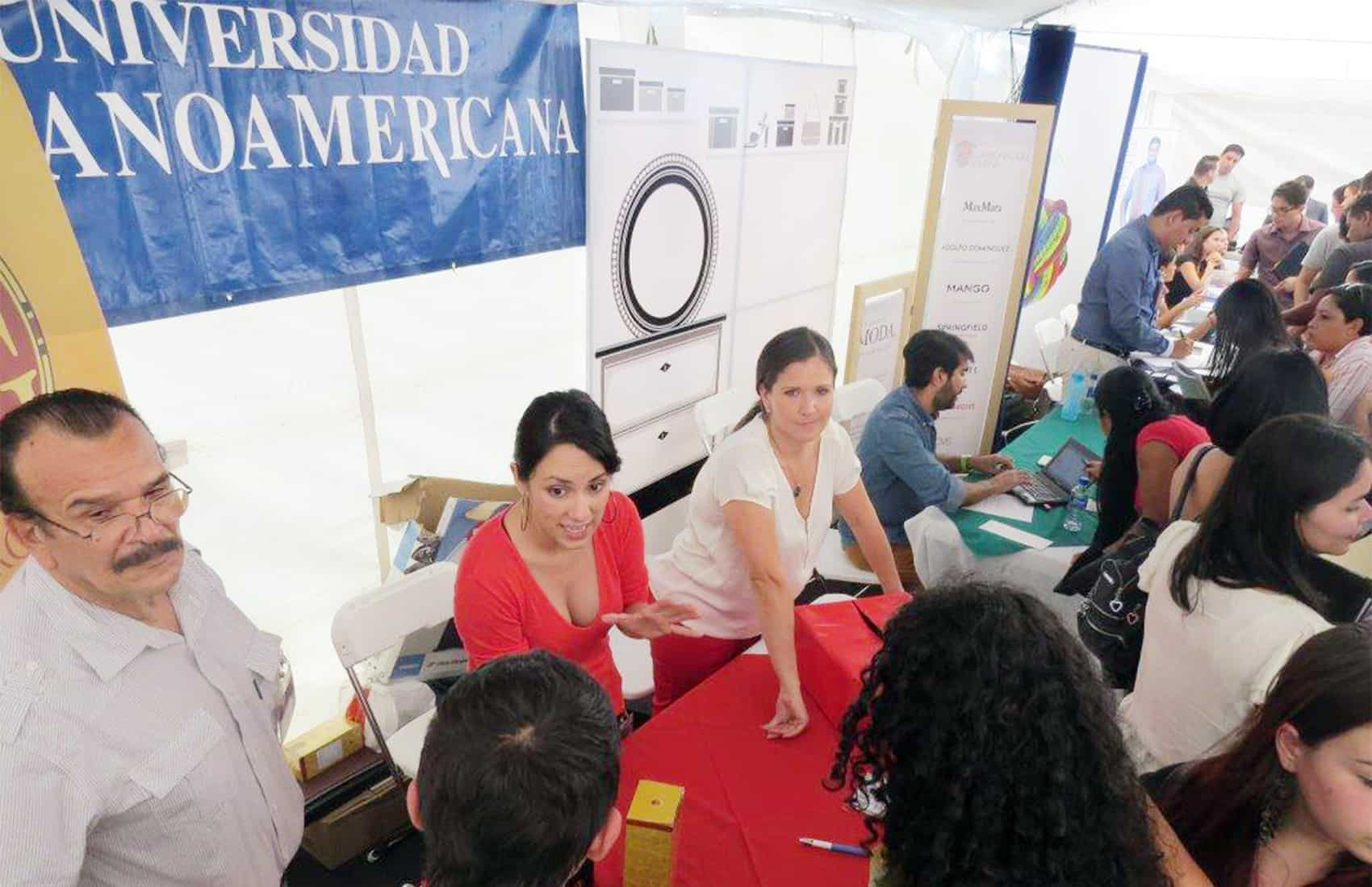 Job Fair at Universidad Hispanoamericana