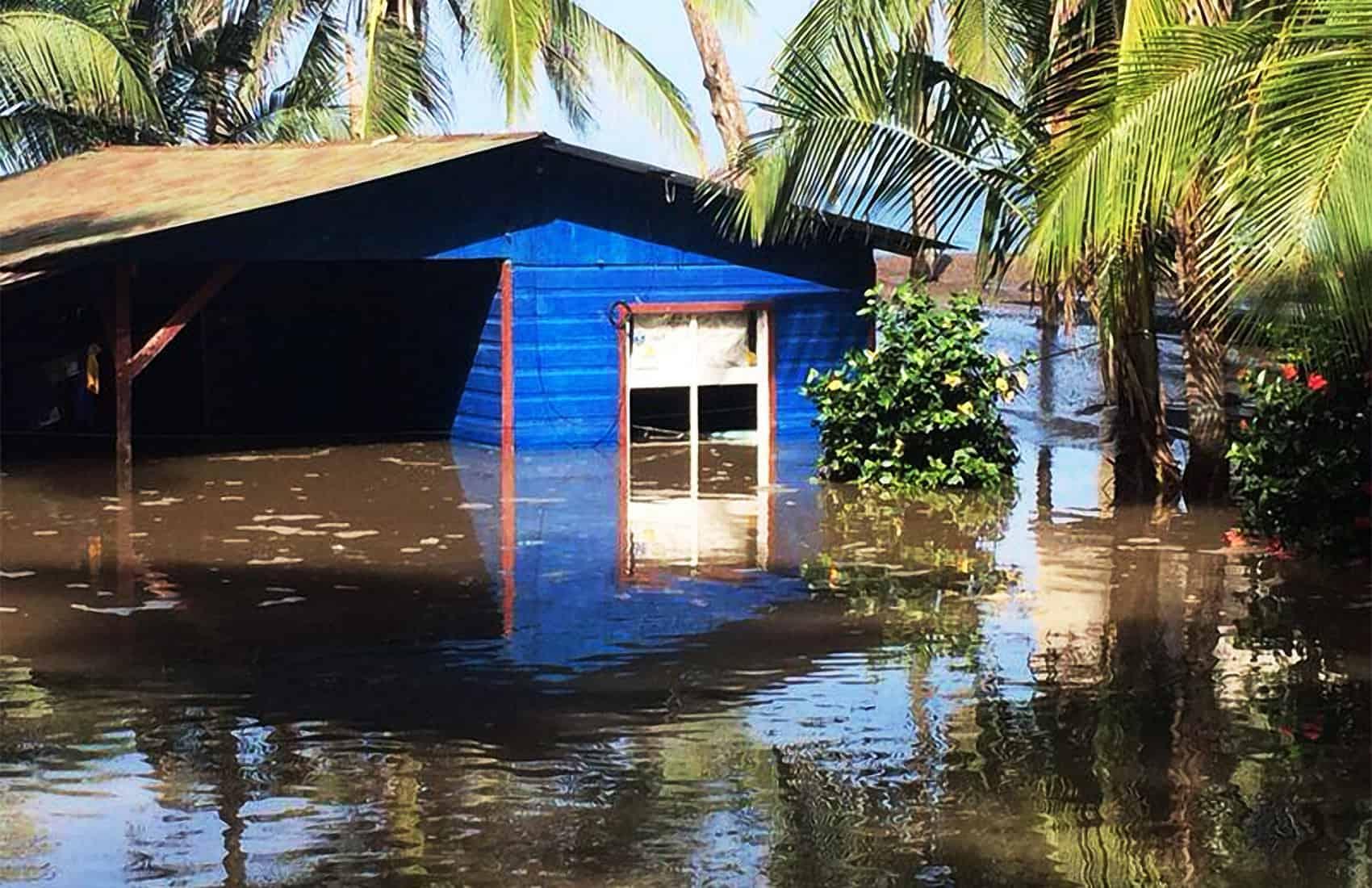 Floodings in Caldera, Puntarenas