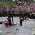 UPDATE: 2 Costa Rica fans stabbed, another hit with a bottle in Plaza de la Democracia while watching Netherlands match
