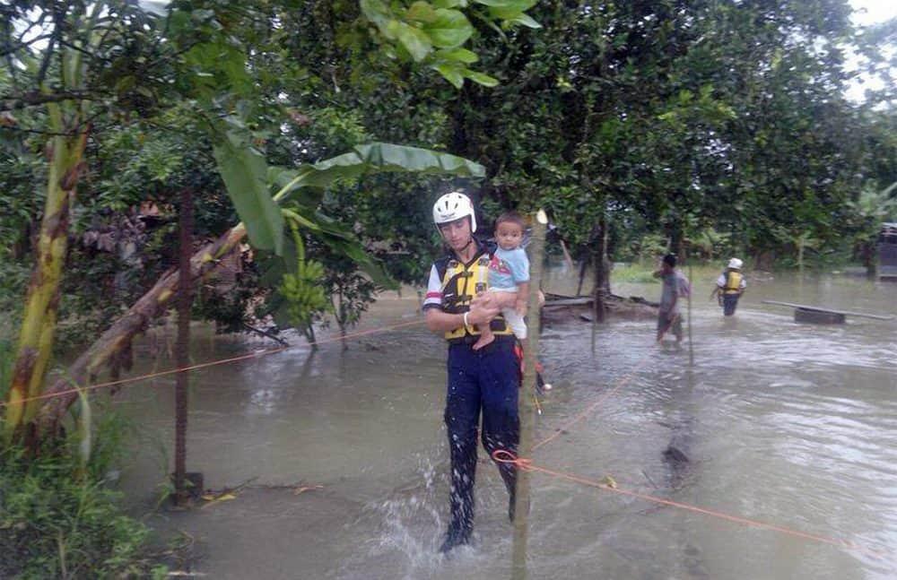 Flooding in Limón