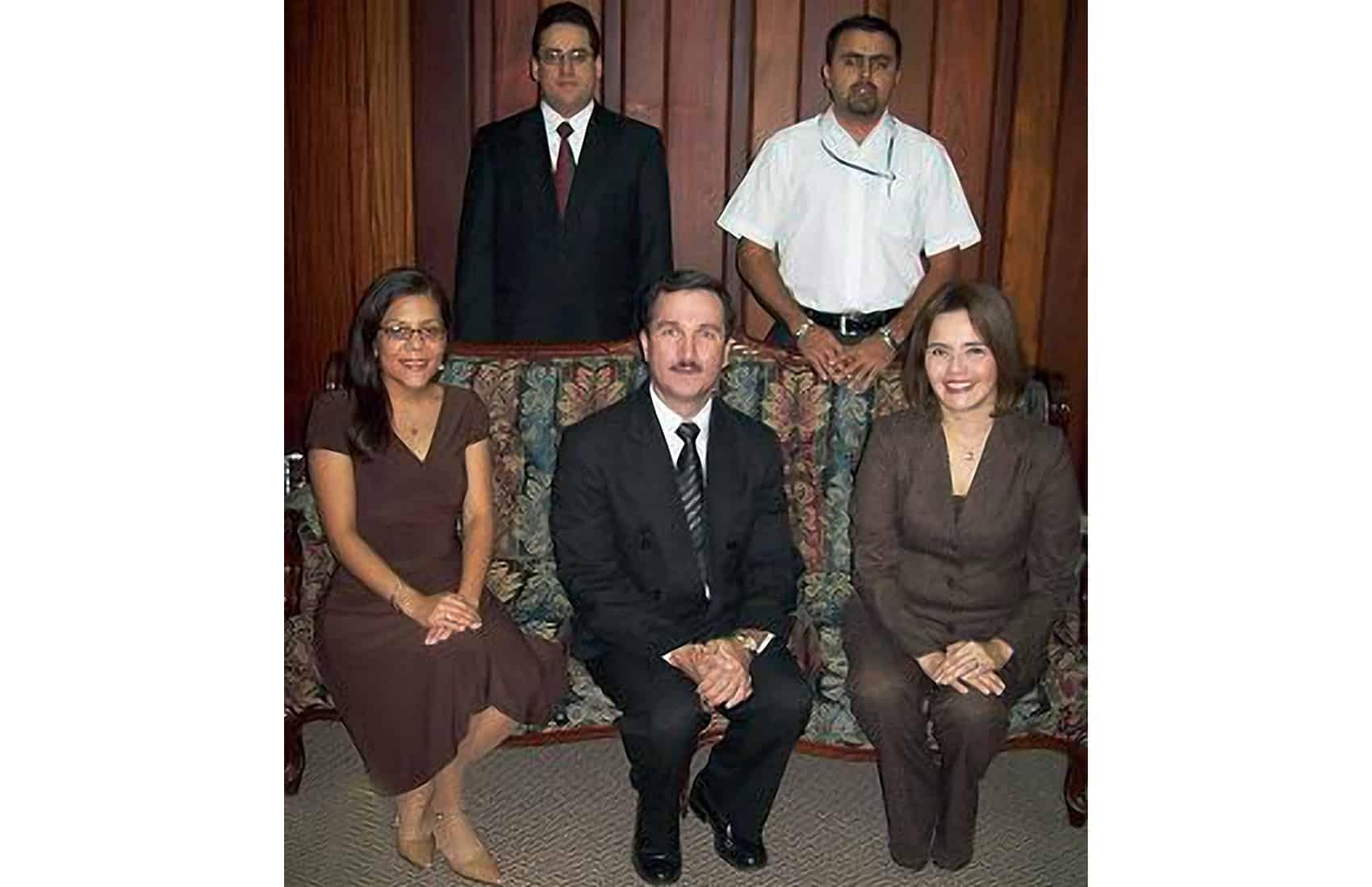 Supreme Court Justice Óscar González Camacho