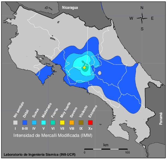 Costa Rica's Central