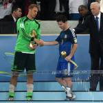 Germany's Manuel Neuer beats Costa Rica's Keylor Navas for World Cup's best goalkeeper award
