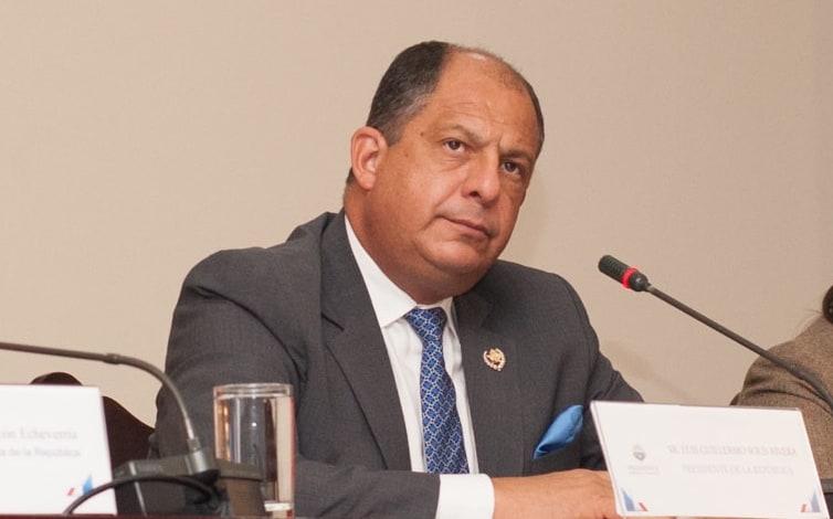 Costa Rica President Luis Guillermo Solís