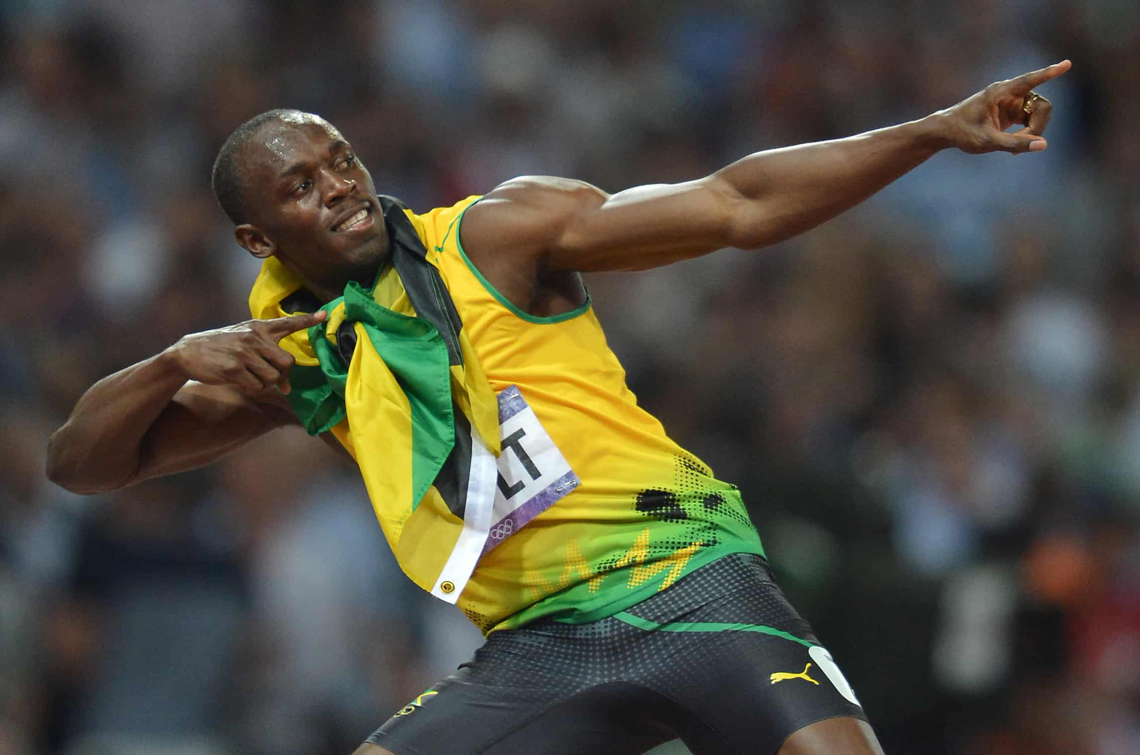 Superstar Sprinter Usain Bolt Partied In Costa Ricas Capital Last Night The Six Time Olympic Gold Medalist Joined Jamaican Reggae Singer Chris Martin For