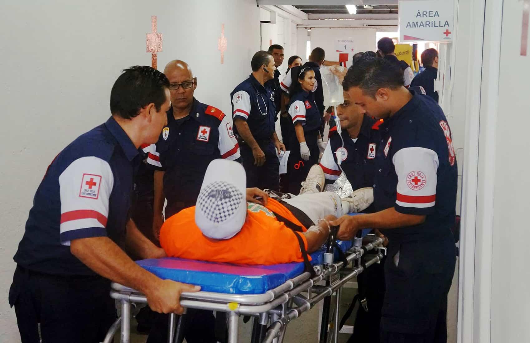 Red Cross staff