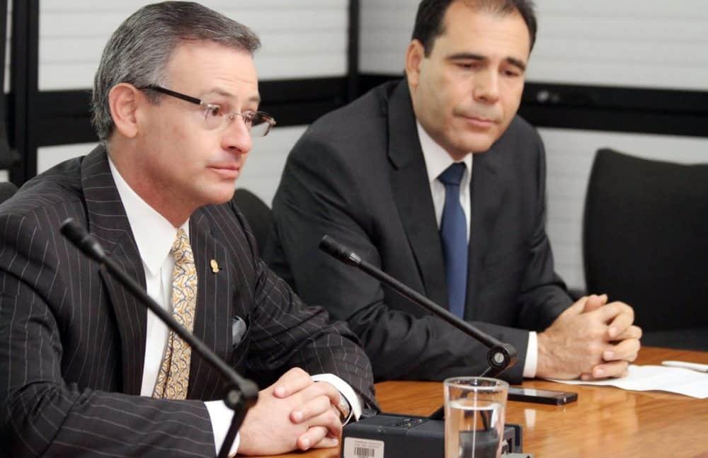 Foreign Minister Manuel González Sanz