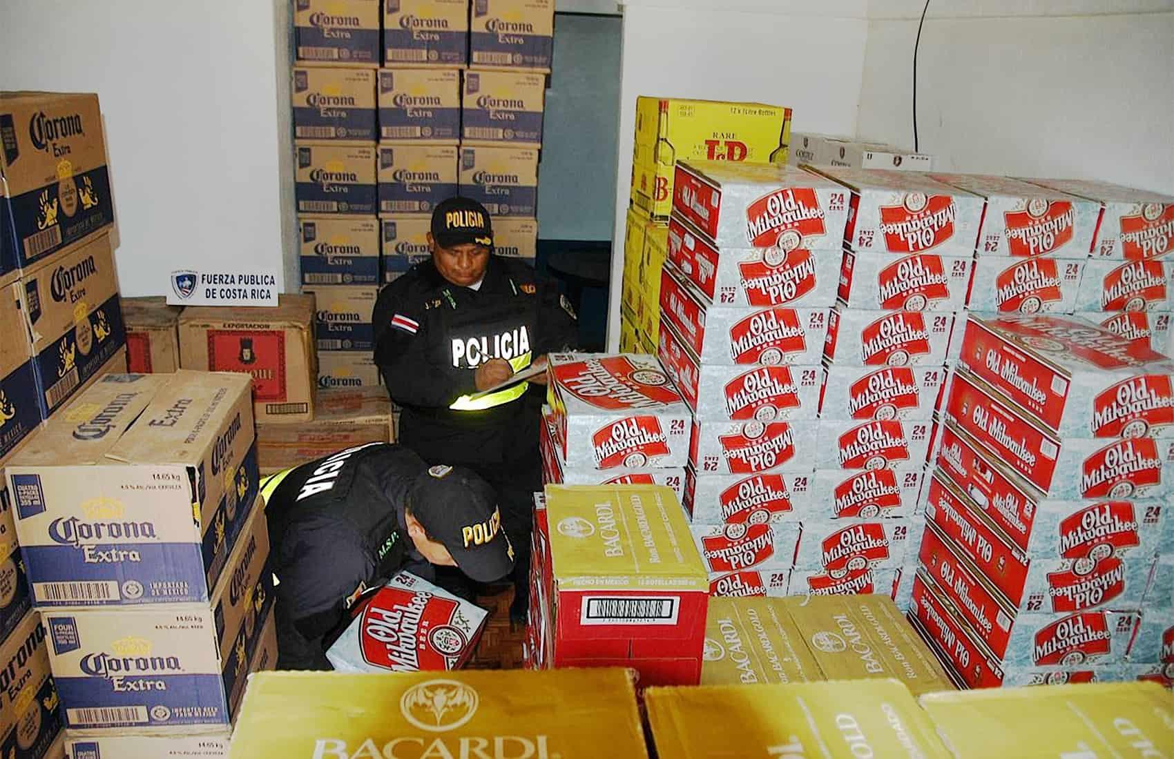 Contraband liquour