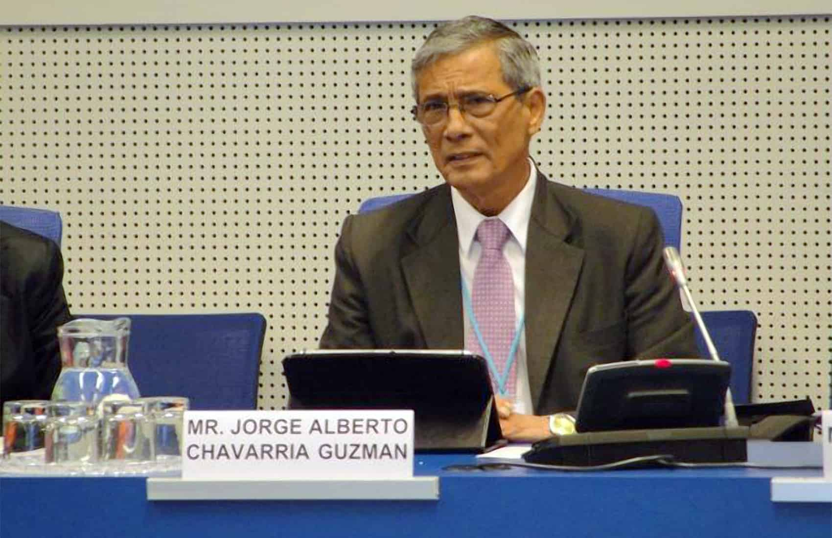Chief Prosecutor Jorge Chavarría Guzmán
