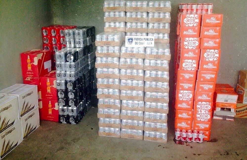 Contraband liquor