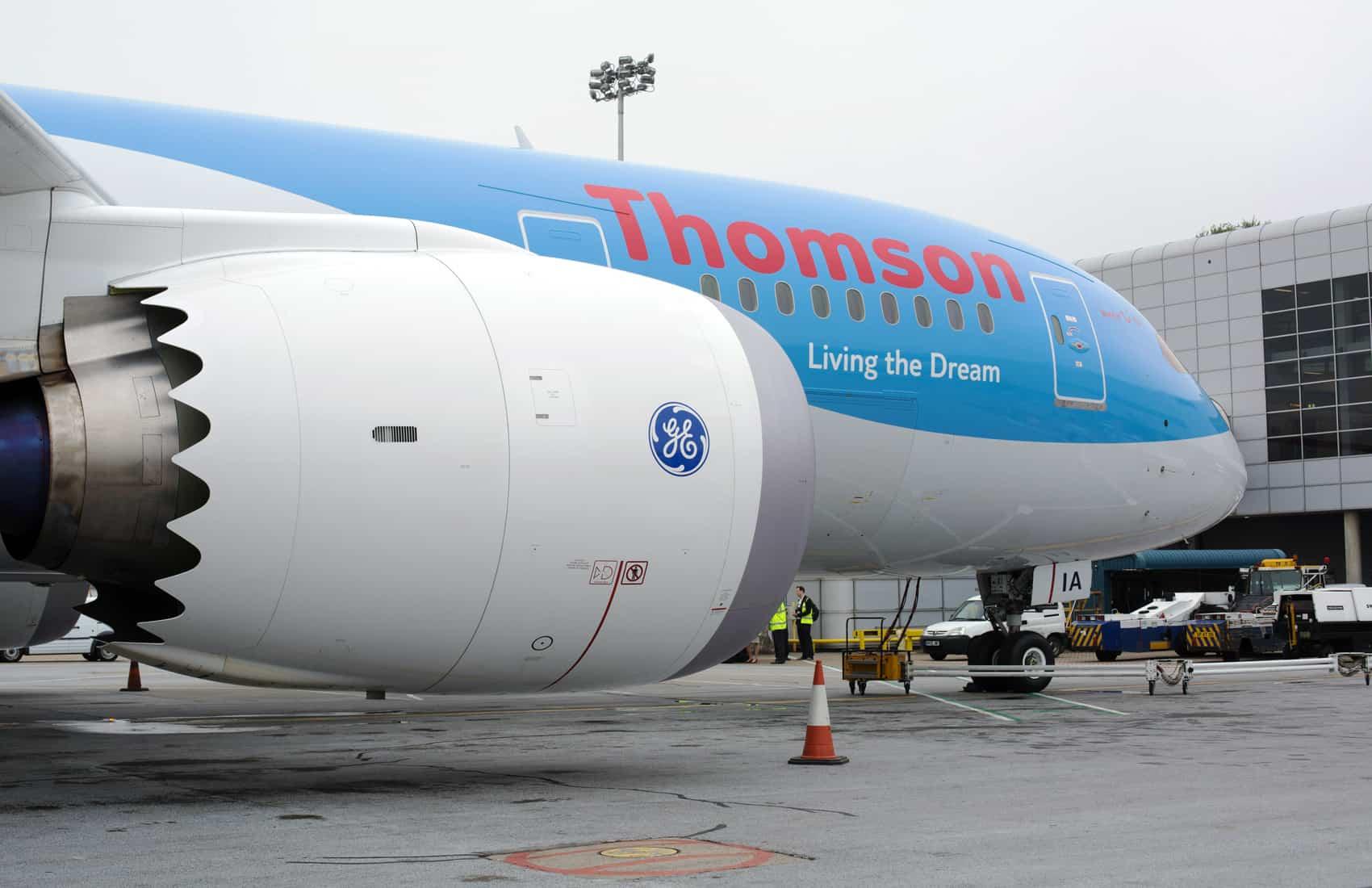 Thomson dreamliner