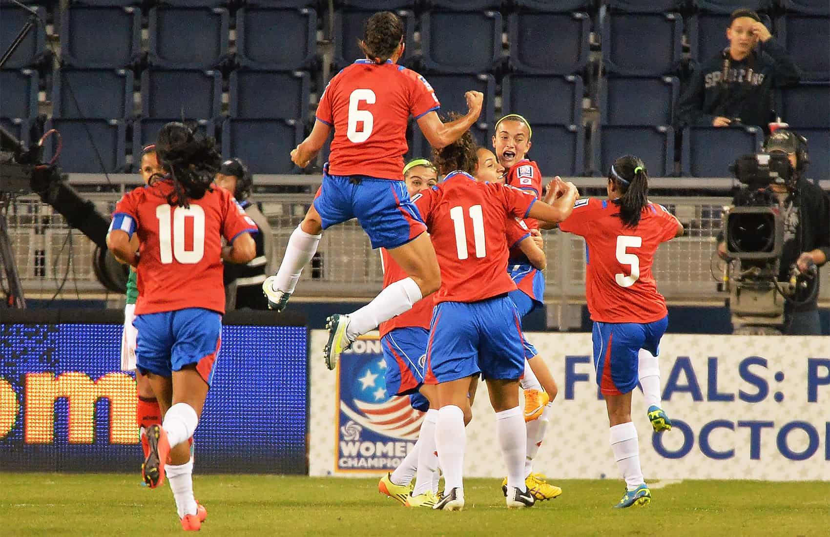 Costa Rica Women's National Team Oct. 17