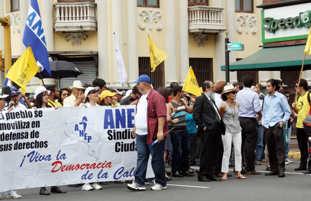 ANEP public demonstration Oct. 20, 2014
