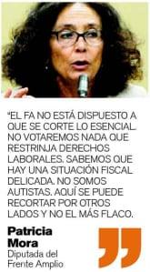 (Scan of quote in La Nación)