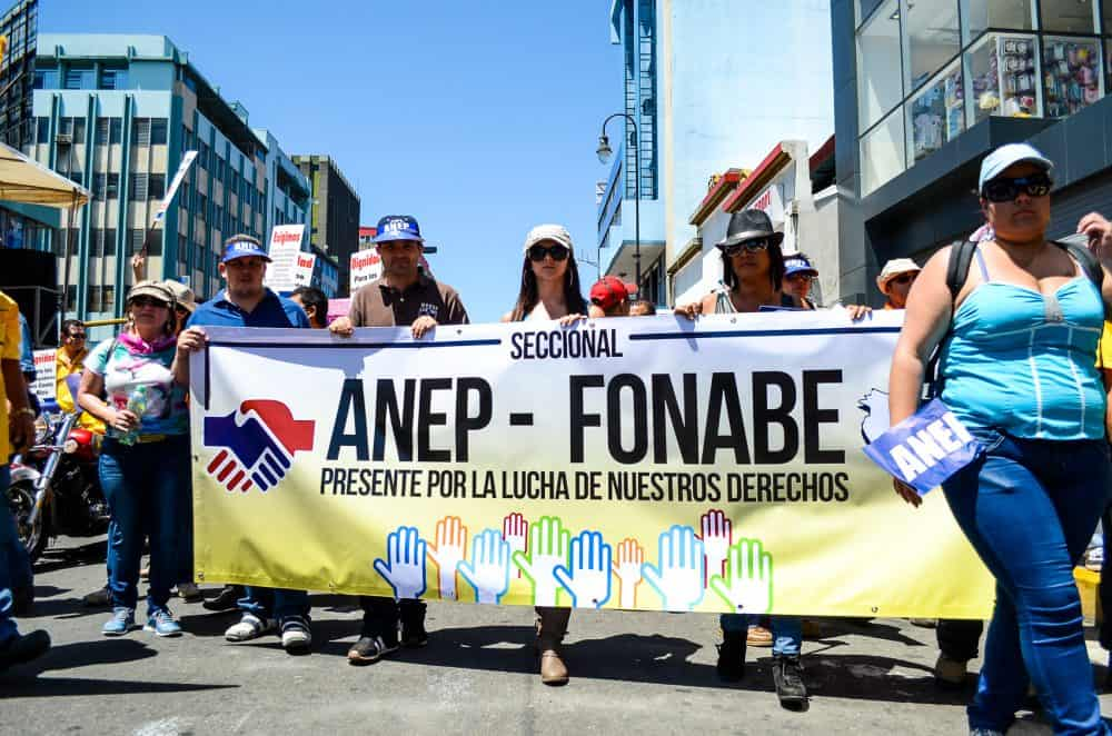 ANEP public demonstration