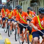 Bicycles gain space on crowded streets of Central America