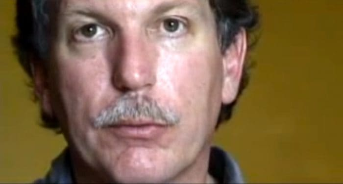 Screengrab from interview by School of Authentic Journalism in Merida, Mexico, 2002.