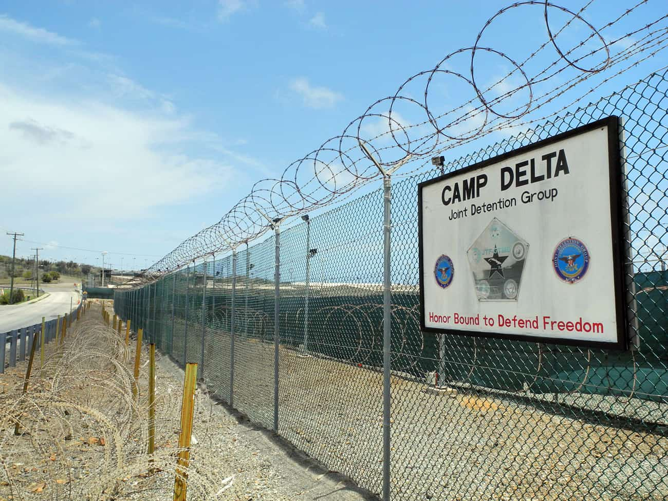 Camp Delta at the U.S. Naval Base in Guantanamo Bay, Cuba on Aug. 7, 2013.